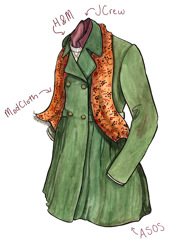 See more illustrations on my blog or check out A Boston Blazer on Etsy.