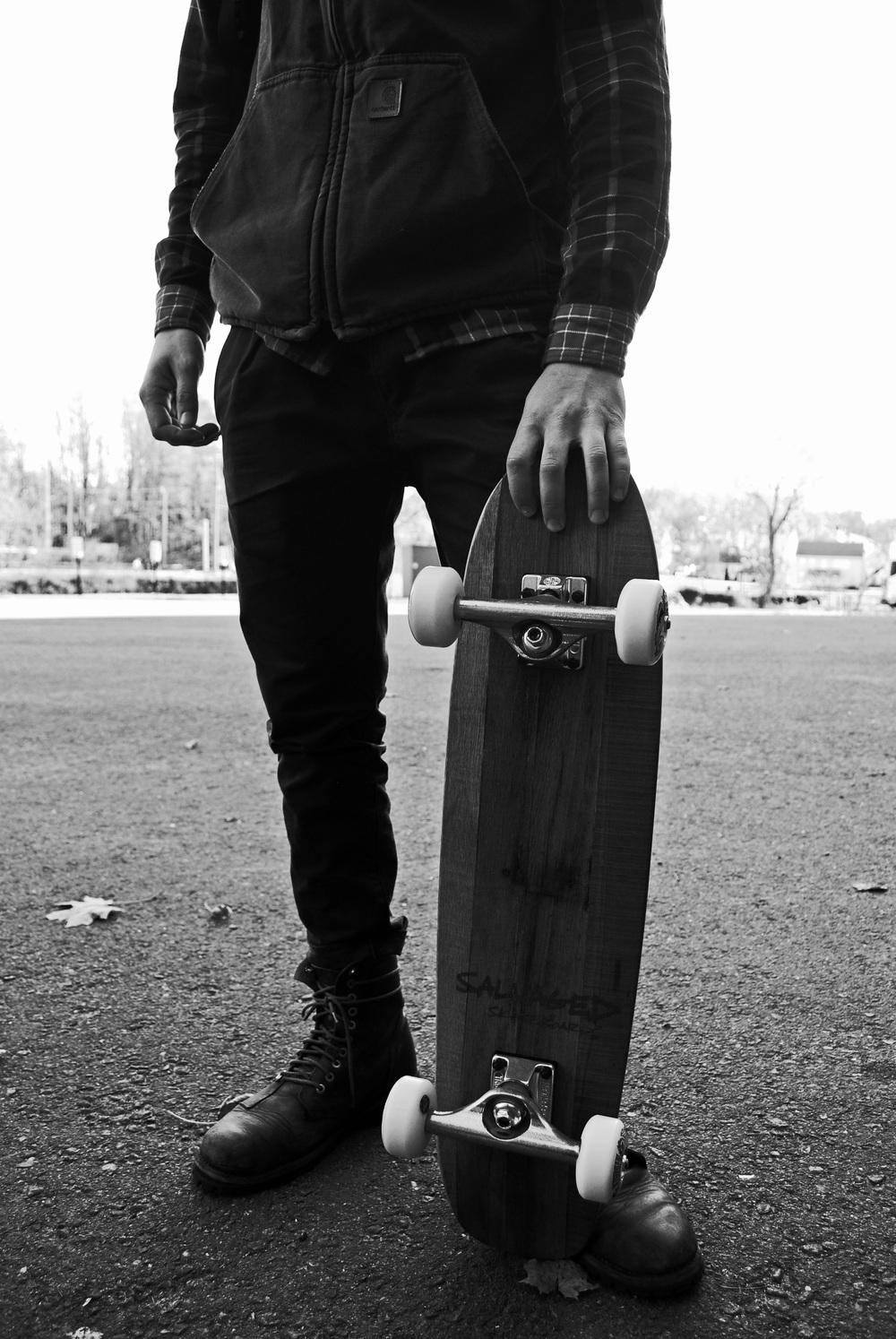 Salvaged Skateboard