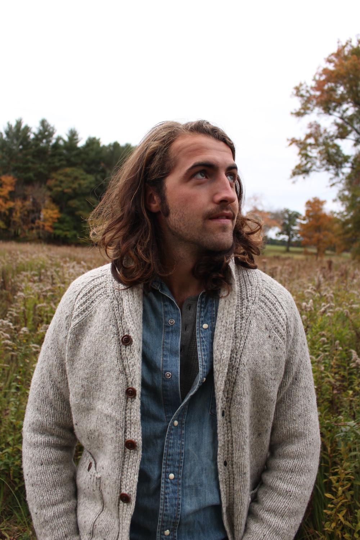 Sean in our Fall lookbook