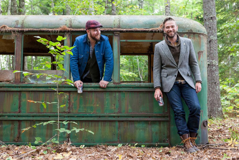 Seth and Jeff do Hope, Maine