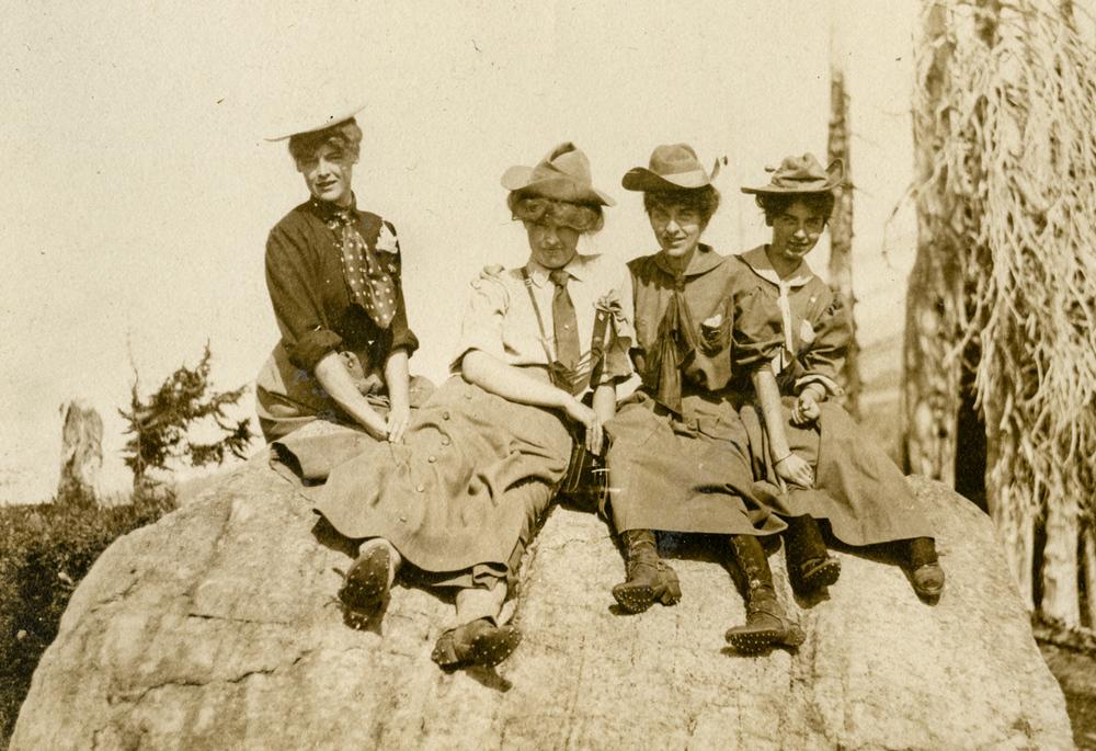 The Mountaineers. Mt. Rainier, Washington 1915