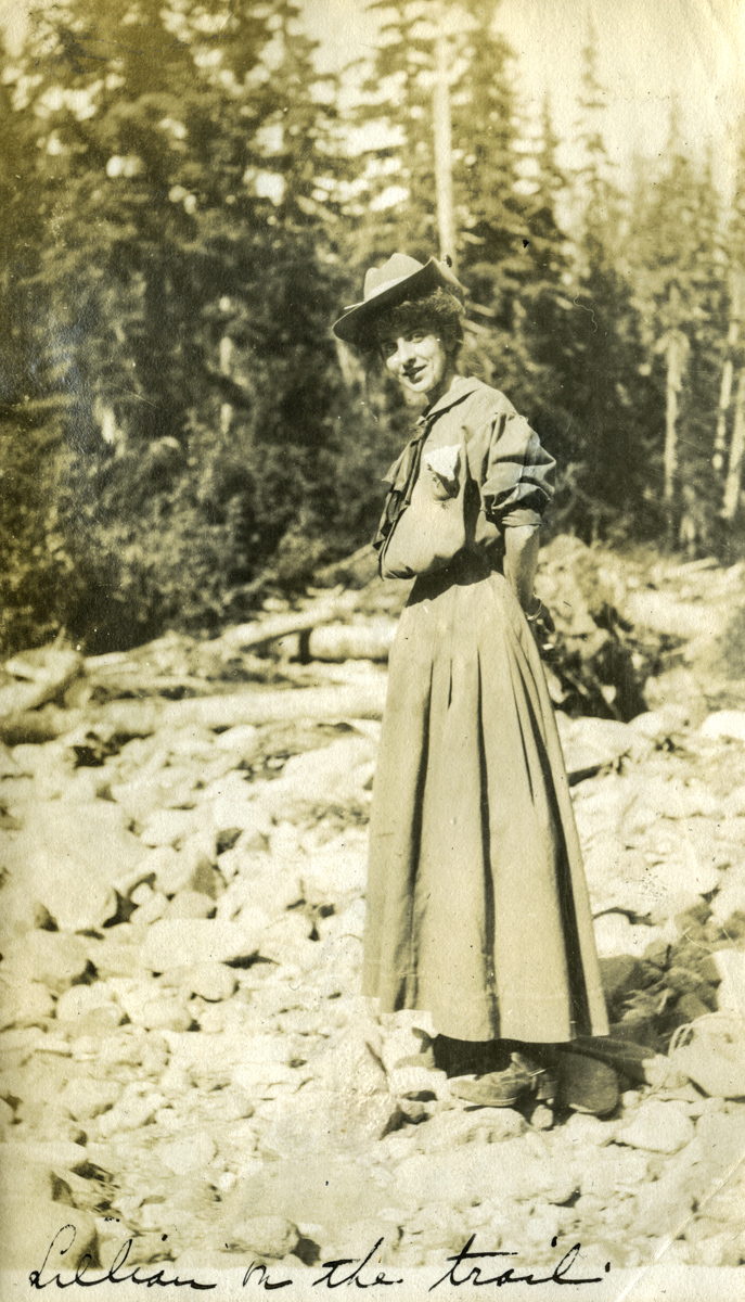 Great Grandmother Lillian Streeter. Mt. Rainier, Washington 1915