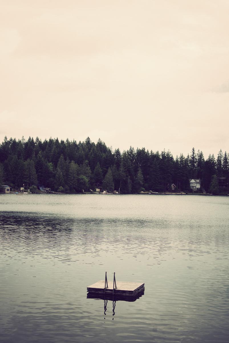 Benson Lake, WA.