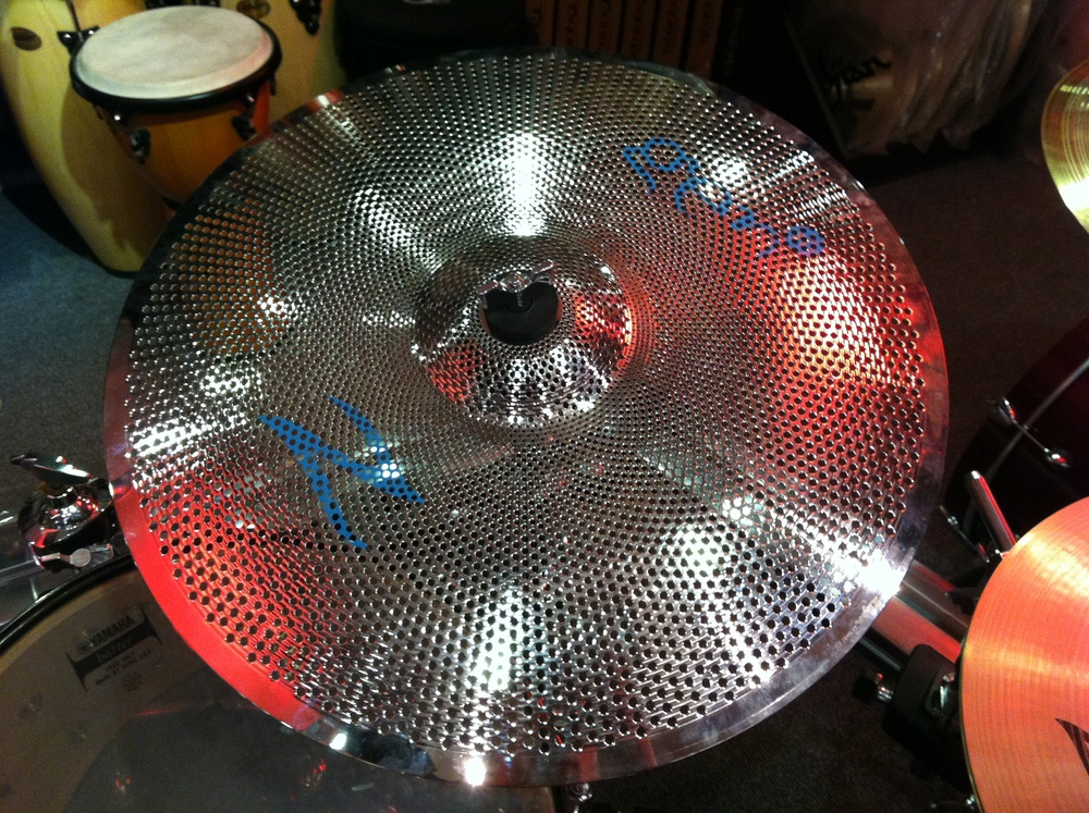 Zildjian's Gen16 low volume cymbals with electro-acoustic pickups.