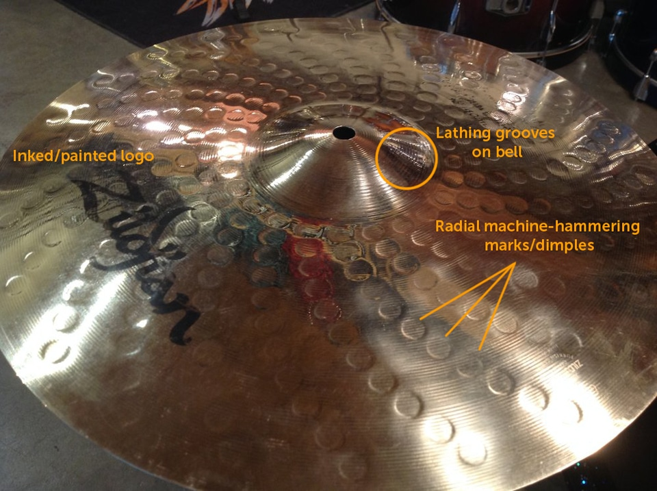blog date your vintage zildjian k cymbals steve black 39 s zildjian stamp timeline. Black Bedroom Furniture Sets. Home Design Ideas