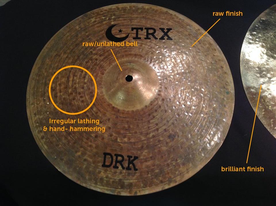 TRX Dark Hi Hat Cymbals