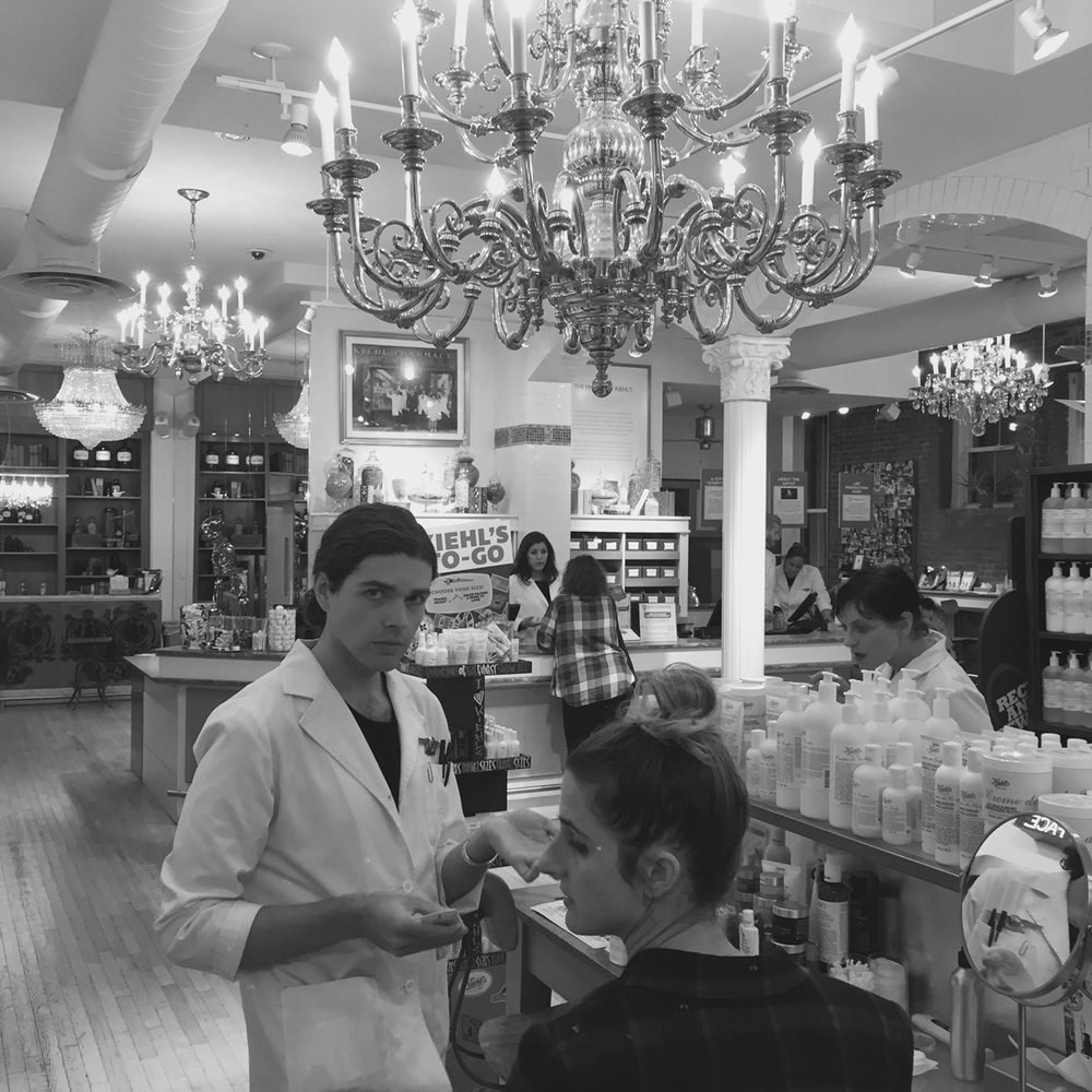 Chelsea Knight Kiehl's, NYC