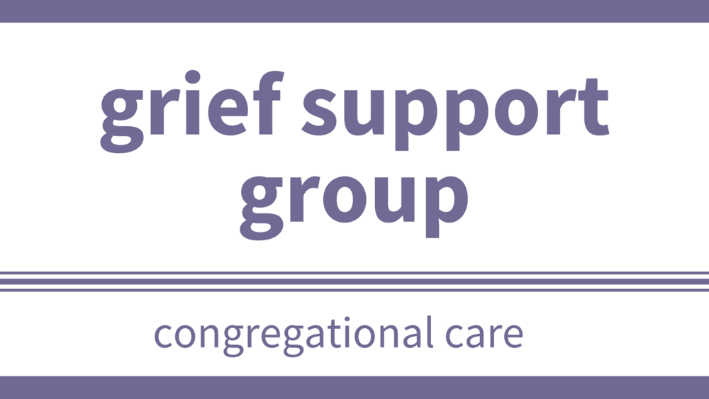 wednesday, october 4 at 10 am, until november 8 - Location: Upper RoomHave you experienced the loss of a loved one? Grieving is a time of sadness, mixed emotions, and changes in all aspects of life. It helps to know we're not alone. Come be part of a caring and compassionate group who are all walking this road with you. Talk to Vi Sharpe, Pastor Nick, or the office email or 403-256-3181.