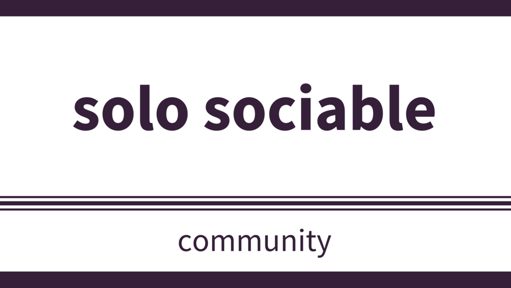 sunday, january 21 at 3pm - Location: RDLUCSolo Sociable is a group that welcomes people that attend church solo. Solo Sociable is going to the OTE Concert at RDLUC. If you will be able to attend, please signup at the Get Involved table in the Midlands Link. All are welcome.