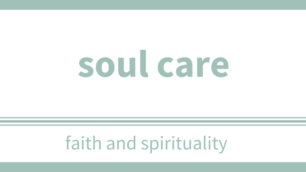 thursdays, march 8 - 29 at 7pm - Location: Upper RoomDescription:A safe and friendly small group to belong to where your soul is free and safe to emerge, where vulnerability and authenticity is encouraged, where truth is expressed (personal stories and at times, stories from scripture), where we meet God in some mysterious way, where the soul is allowed to come out and thrive. We'll be asking questions like:What is the soul? or Why is the soul important and how can I