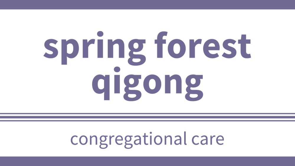 monday, april 2 at 9:30am  - location: lower hallCome experience the beautiful, healing practice of Spring Forest Qigong with Darlene Abraham from 9:30 to 10:45!  This is a FREE event - meditative and prayerful!Movements are gentle but energetically powerful!  They can be done standing or sitting and are easily modified if needed!  Comfortable clothing and footwear are all you need!A seated, guided meditation and the beautiful sound of Tibetan/crystal bowls will be included.Questions?  Email Darlene at dhabraham@shaw.ca