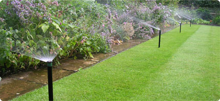 IRRIGATION FOR FLOWER BEDS