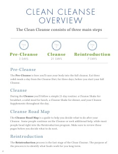 Cleanse Manual   from Clean: the cliff notes to the cleanse and the Clean book.