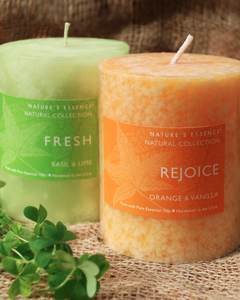 Natural Collection    Beauty and sophistication set this candle collection apart. Fragrantly scented with essential oils, these Spa quality candles are ideal to compliment a healthy, contemporary lifestyle.