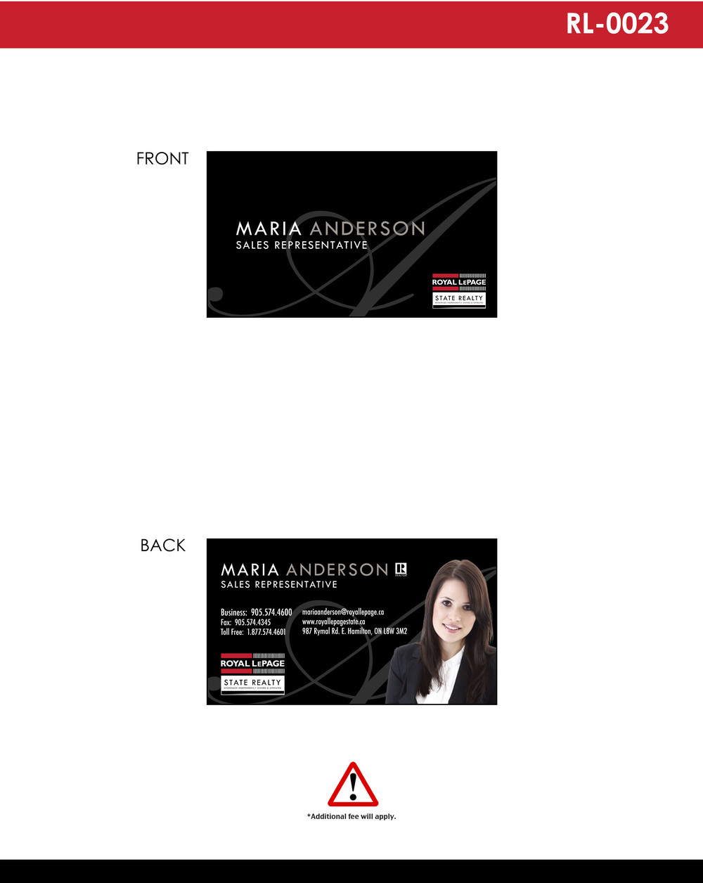Business Cards — Royal Marketing