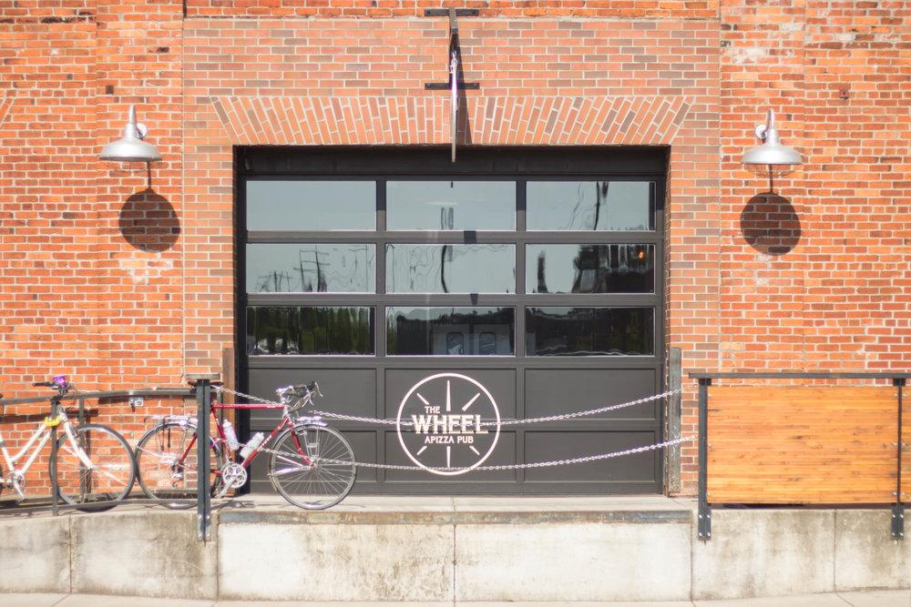 The Wheel Apizza Pub Exterior
