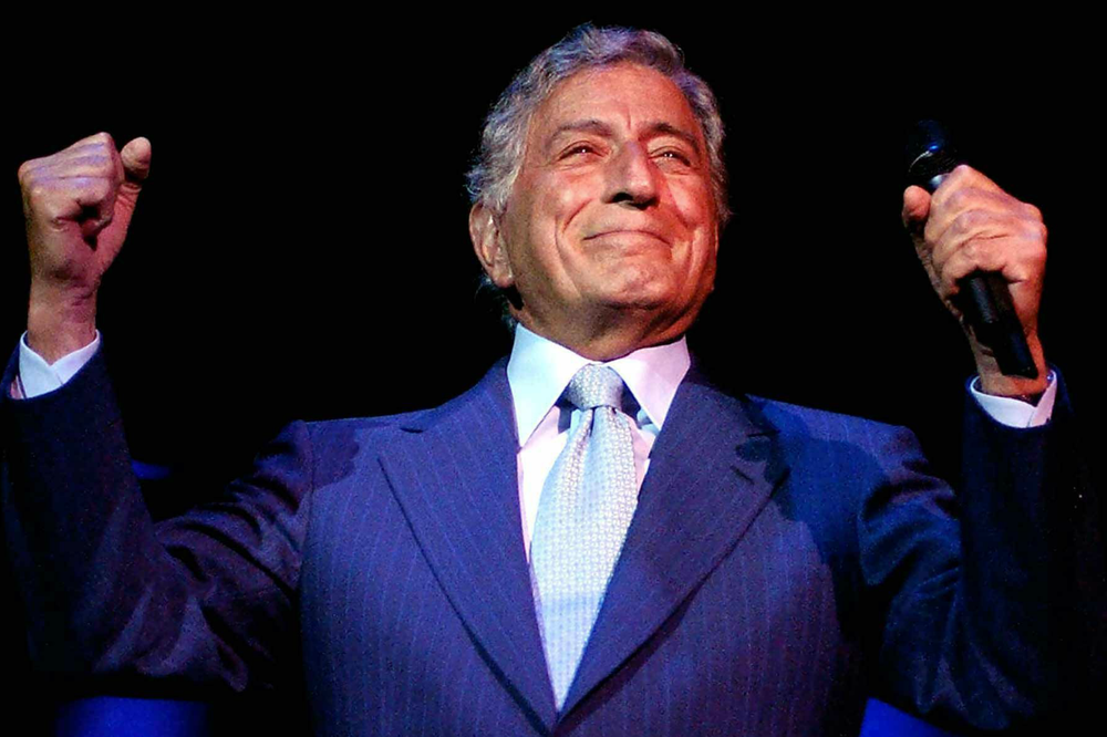 Tony Bennett. Image by Studio Brooke.
