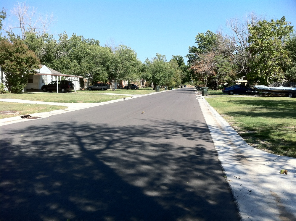 Neighborhood Street Reconstructions