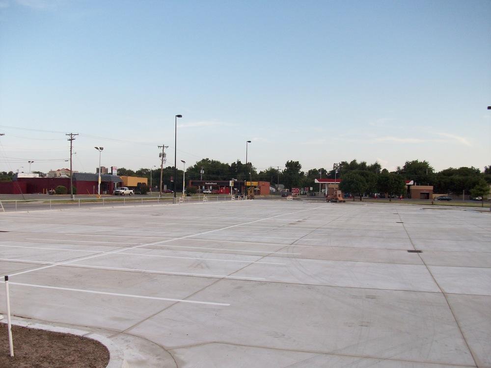 Norman High School Parking Lot
