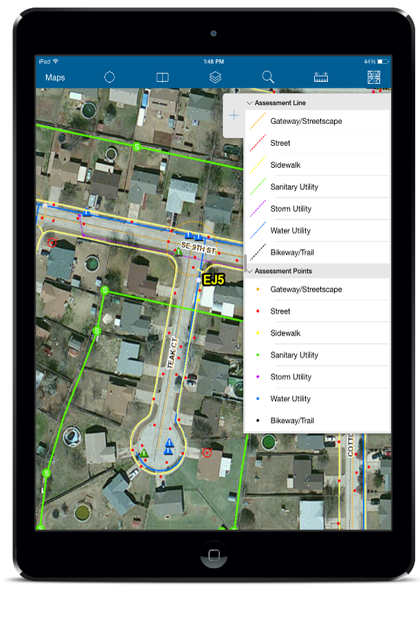 Mobile GIS Mapping Applications