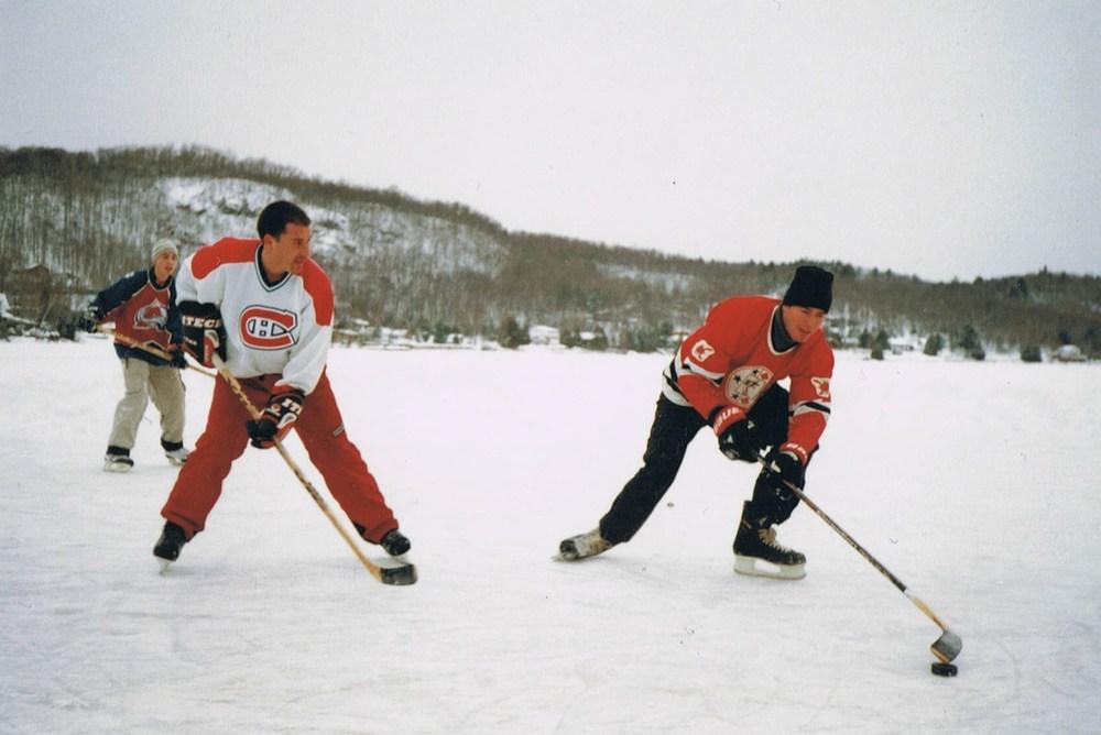 Du hockey comme dans le temps