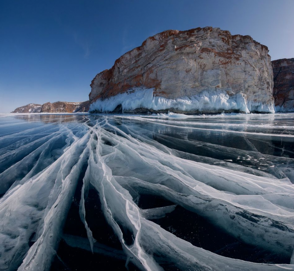 Baikal lake in rusia