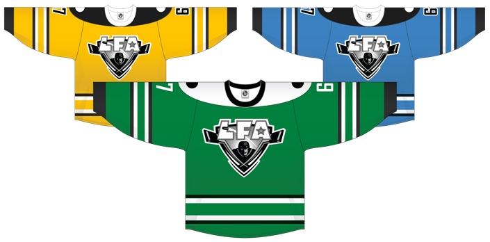 Proposition pour les nouveaux chandails pour la saison 2014-15