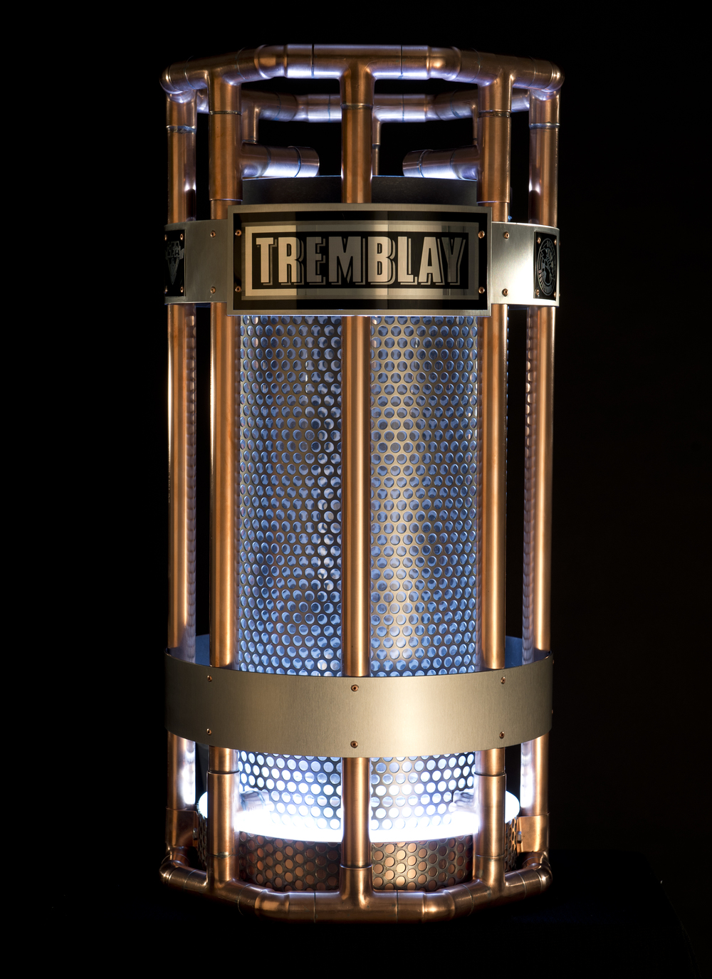the tremblay trophy for our regular season champs (Photo Bruno Petrozza)