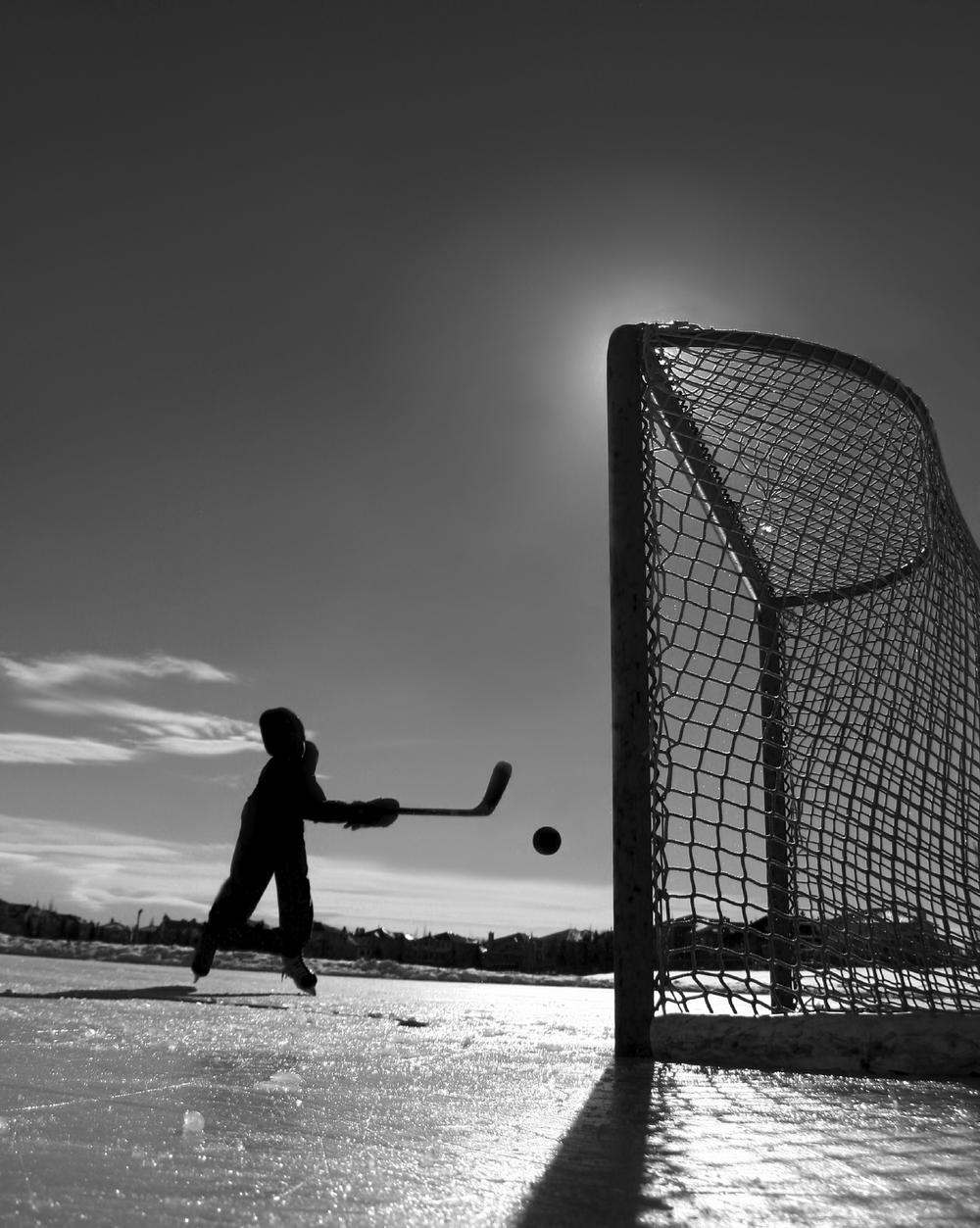 En quelque part sur la planète hockey...