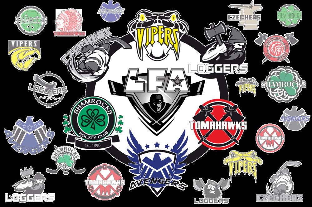 LFA's new team logos.