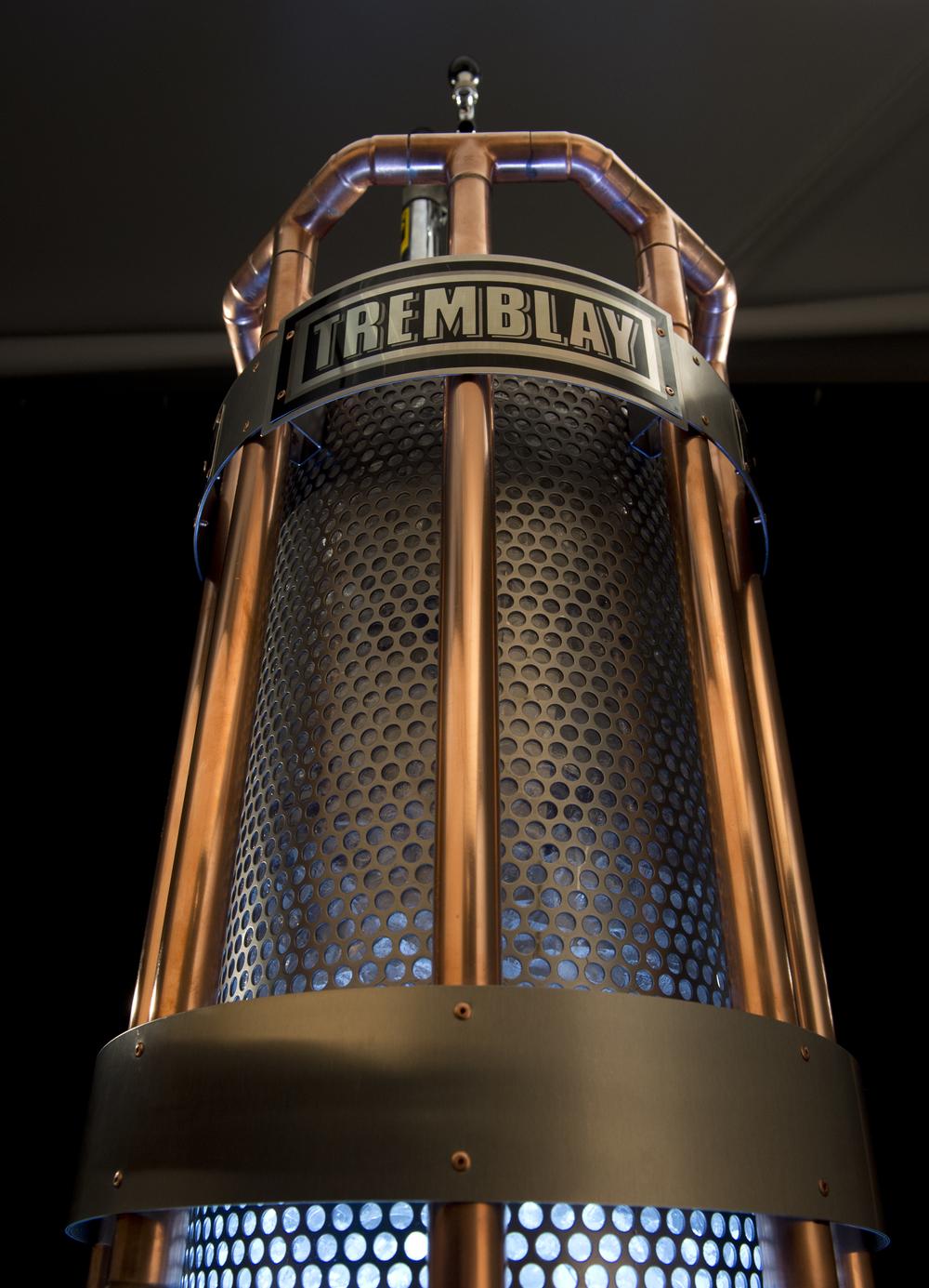 Le trophée tremblée, une création exclusive de totem urbain pour la lfa et les brasseur rj.