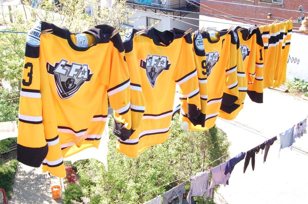 Il est temps de laver les chandails et d'amorcer officiellement la deuxième saison estivale de la LFA! (Photo Alex Paré)
