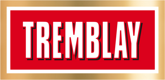 The Tremblay beer is the main sponsor of the League. Tremblay is a pale lager brewed with a 100% malt grist. The golden color, subtle bouquet and satisfying taste are the result of a delicate balance between malt and hop. Tremblay is a complex blend of fine aromas.