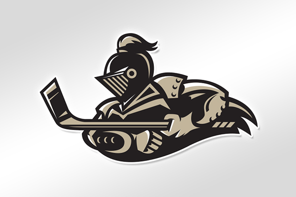 Logo concept for the Las Vegas Black Knights (Photo credit Behance.com)