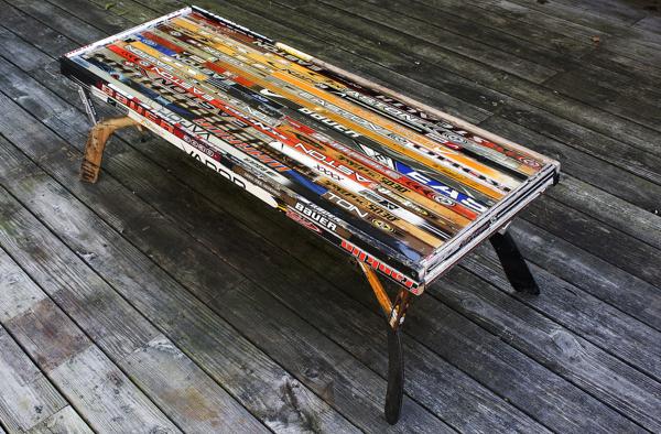 *Une idée créative pour vos temps libres lors de notre premier brake de la saison, cette table Tremblay est une belle utilisation des scraps qui engorgent vos stock room.