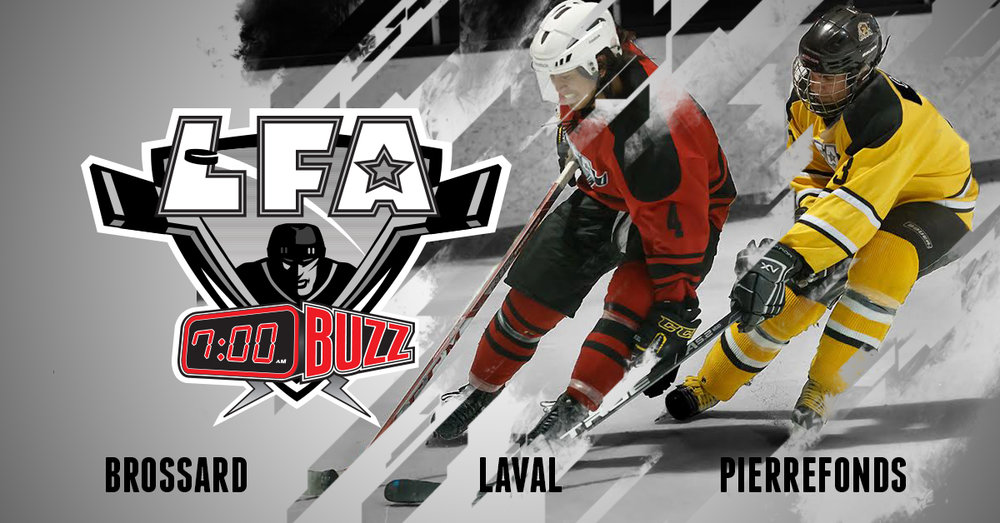We are still recruiting for the new LFA 7AM Buzz starting in October (Design Jacob Poliquin)
