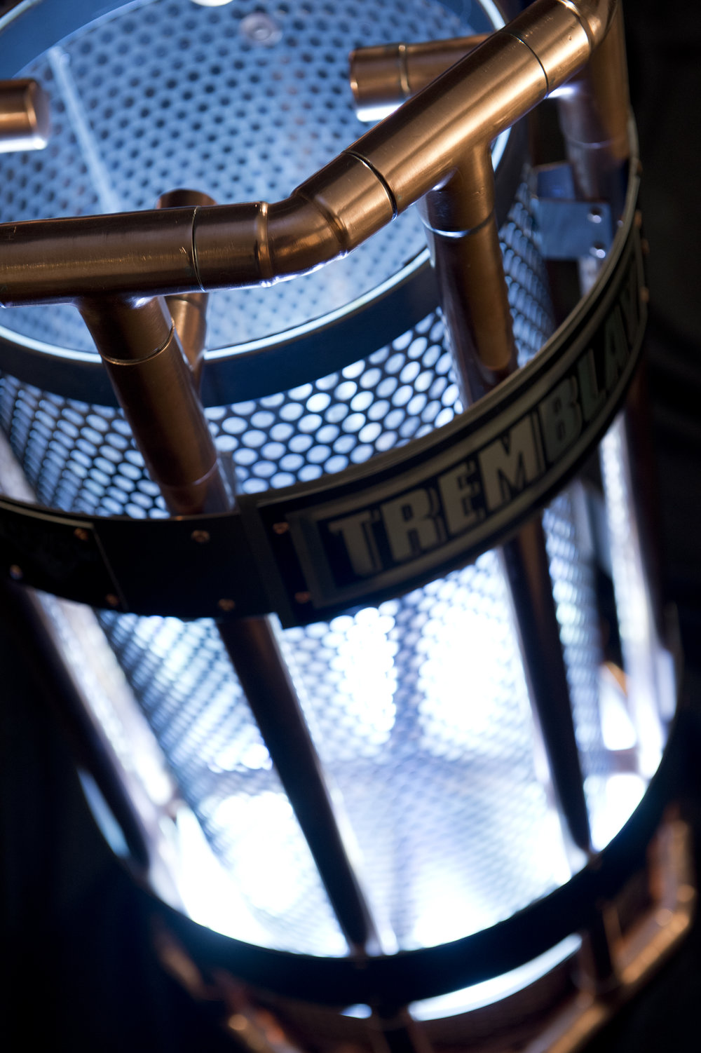 The Tremblay trophy, a in-house design and fabrication with the collaboration of Totem Urbain (photo Bruno Petrozza)