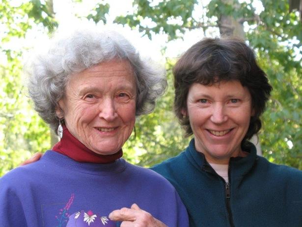 Doris and Marci - Photo: Lila Vogt