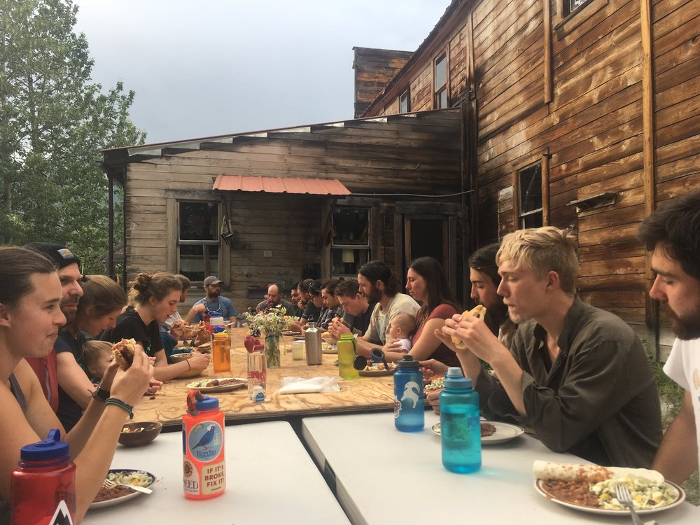 Dinner at the Old Hardware Store - Photo: Nate Anderson