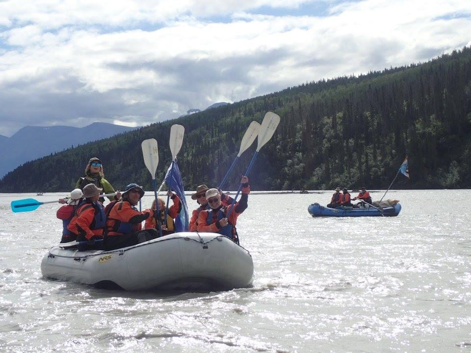 On the river! - Photo: Arlene Rosenkrans