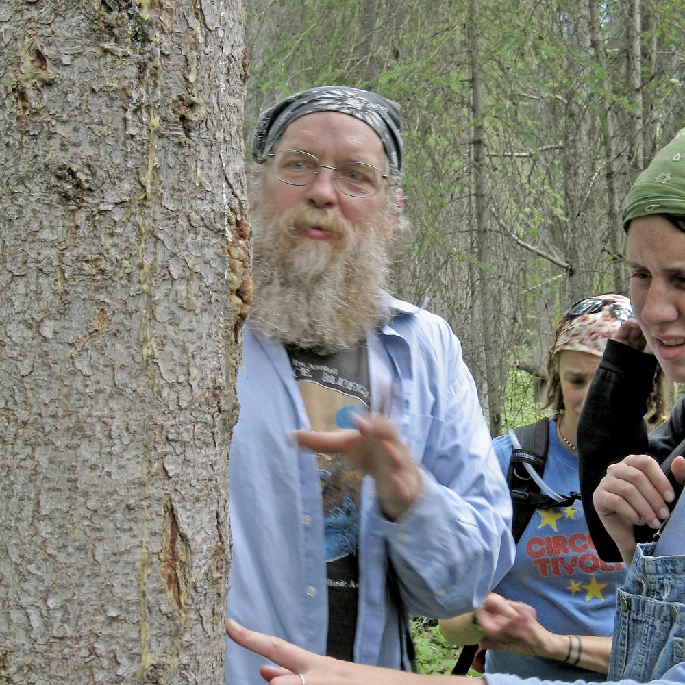 Guided nature walk with expert Mark Vail. Photo credit: Ben Shaine.