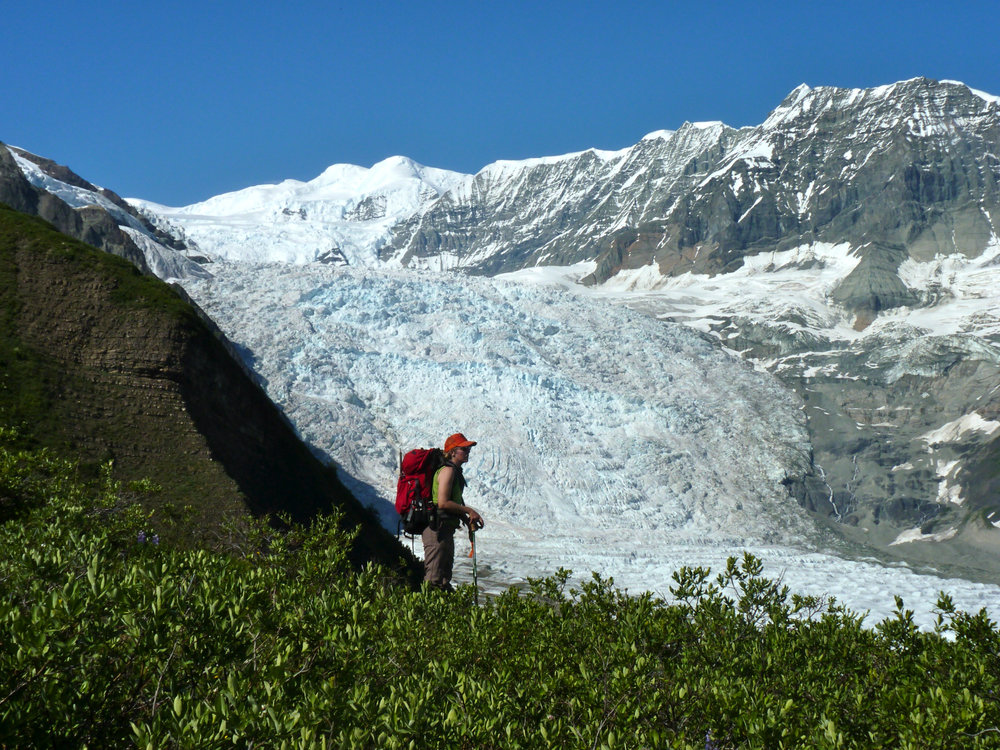 A great view of the Gates glacier
