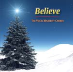 Believe 2007 Christmas Songs  #VM25000  $15.00