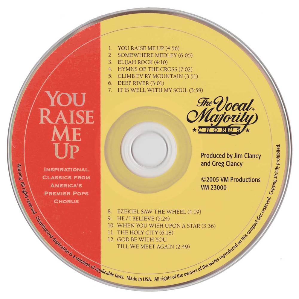 Disc Art: You Raise Me Up