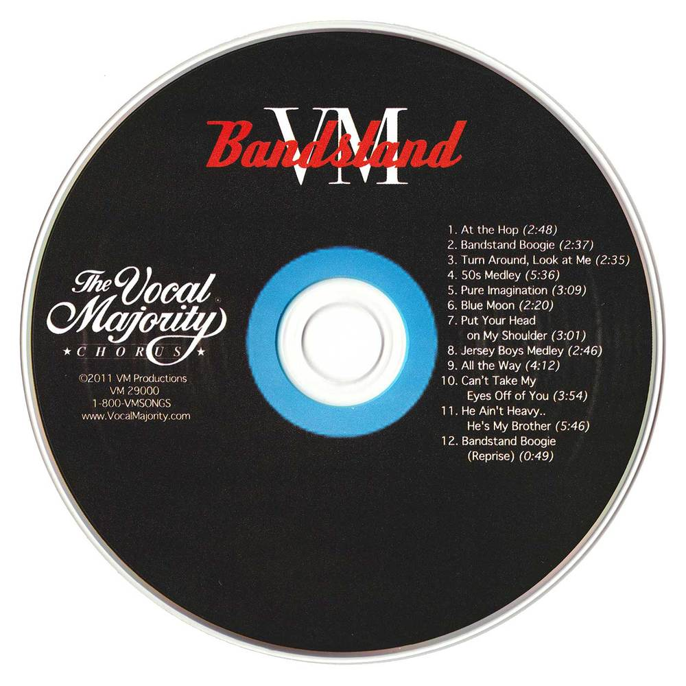 Disc Art: VM Bandstand