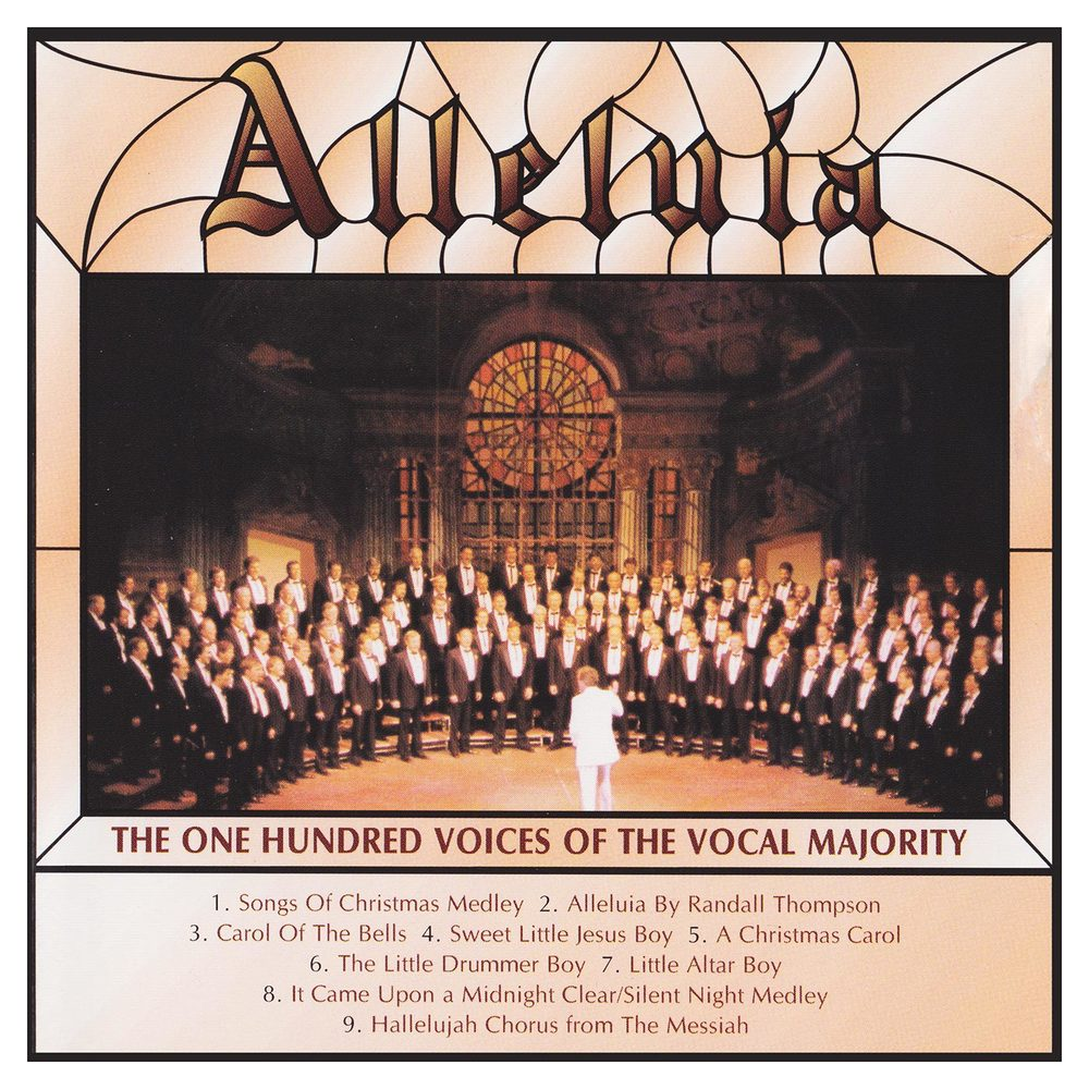 Booklet Front Cover: Alleluia