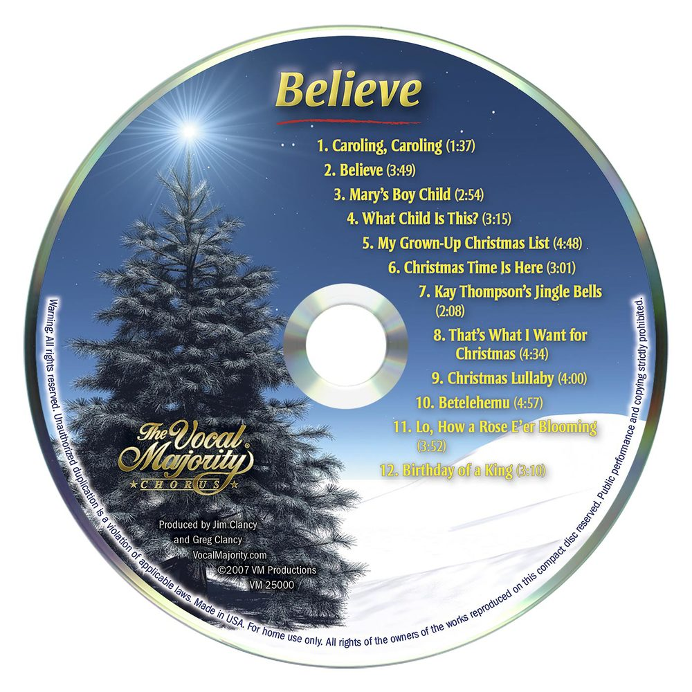 Disc Art: Believe
