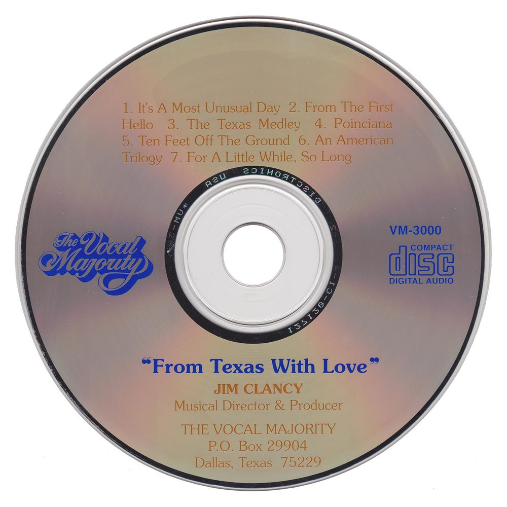 Disc Art: From Texas with Love