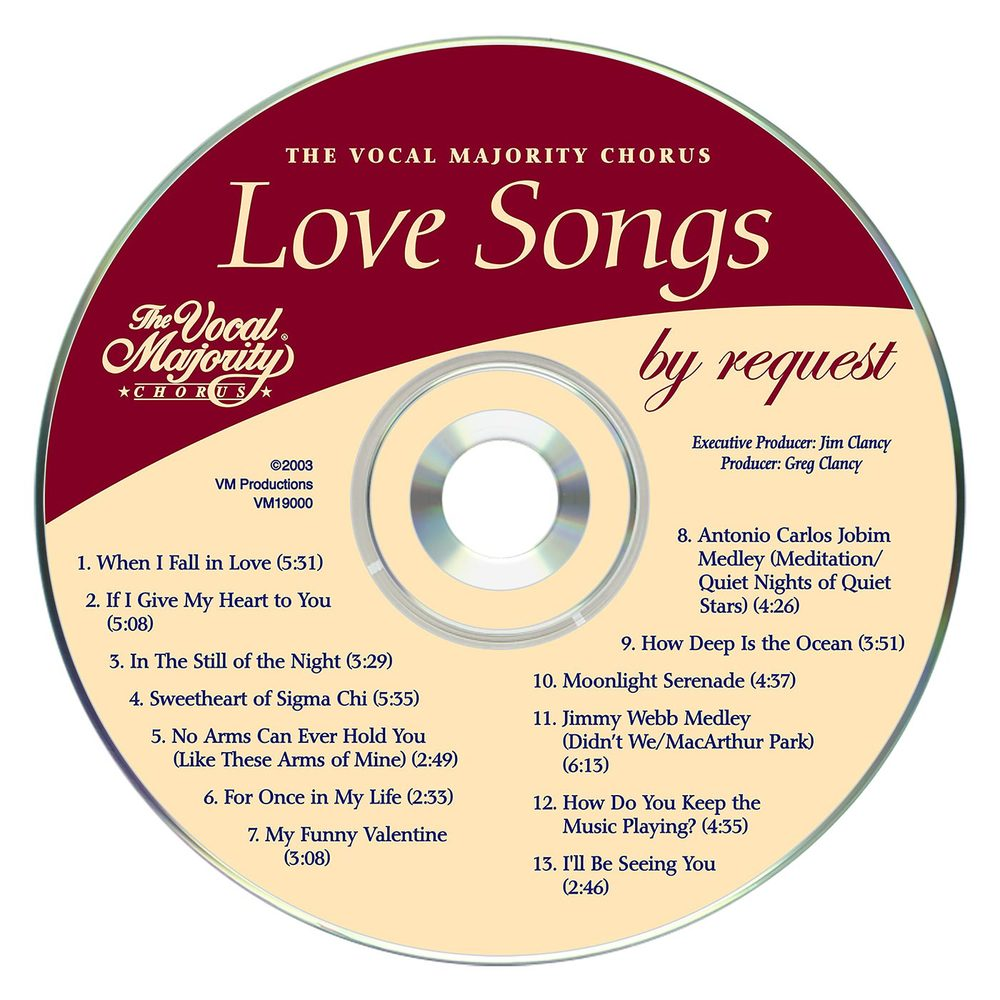 Disc Art: Love Songs By Request