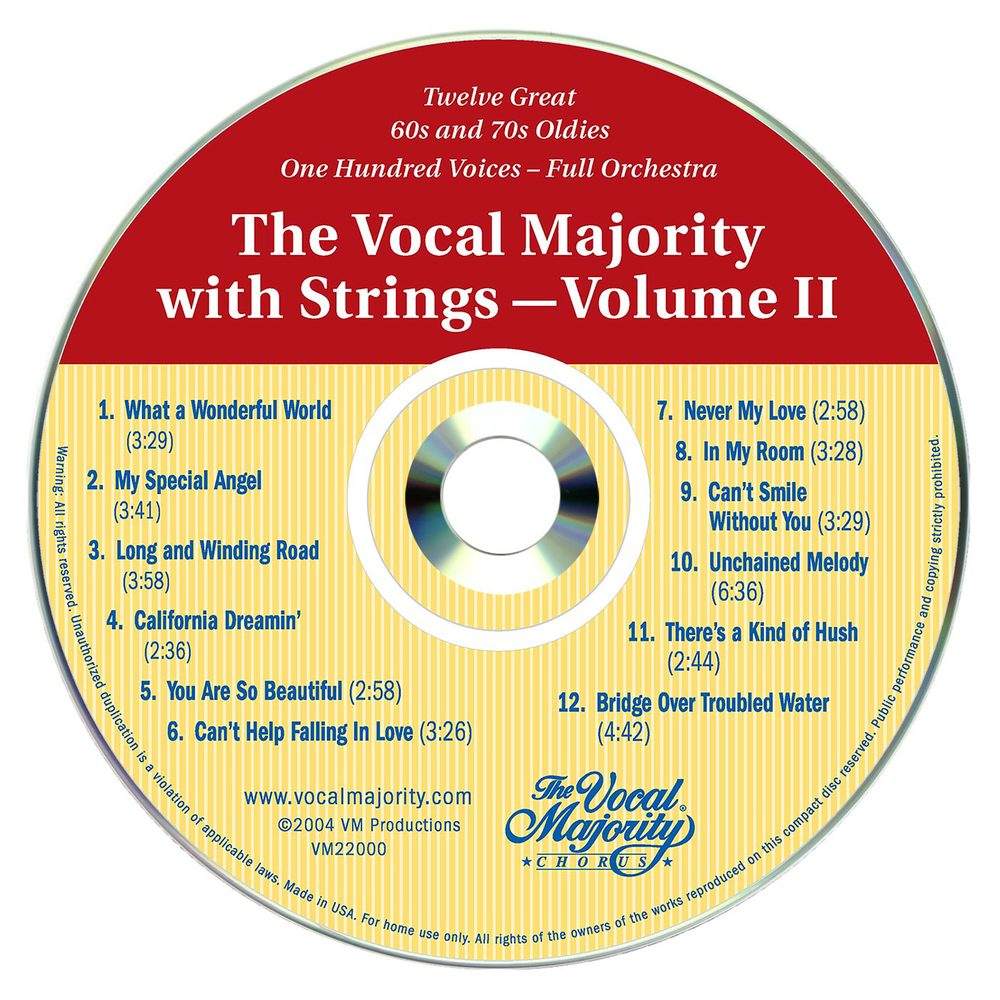 Disc Art: VM With Strings Vol. 2